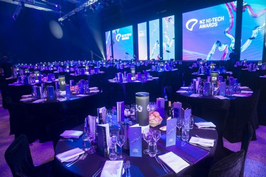 Finalist in the NZ Hi-Tech Awards
