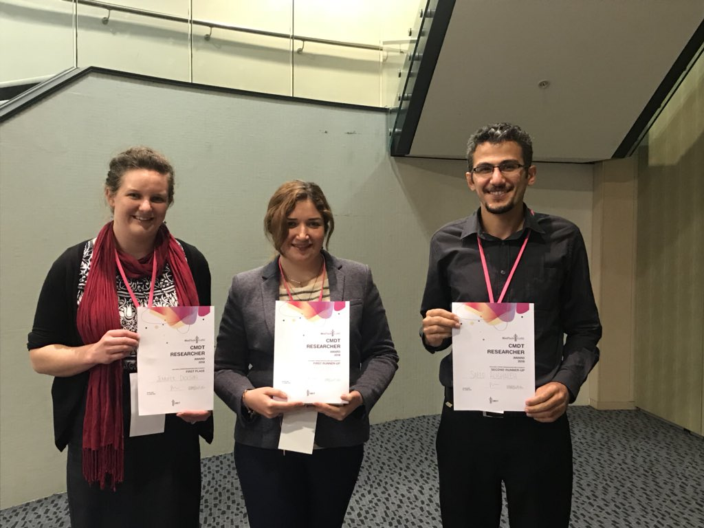 Researchers represent MARS Bioimaging at HealthTech Week in Auckland